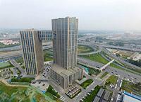 """河源高清图库 郑州一建筑似央视大楼 被戏称""""小裤衩"""""""