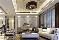 河源装修案例 现代奢侈空间与高贵优雅完美的融合在一起