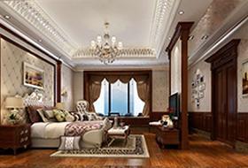 300平方欧式装修风格卧房