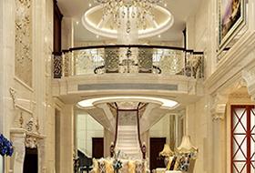 400平方欧式客厅案例