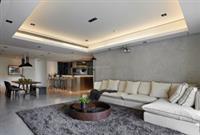 河源装修案例 现代风简约质感房屋装修,高端舒适结合体