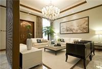 河源装修案例 新型中式豪华别墅家装