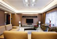 河源装修案例 美式风格130平米居室装修