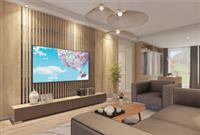 河源装修案例 现代休闲温暖风格的125平米居室装修